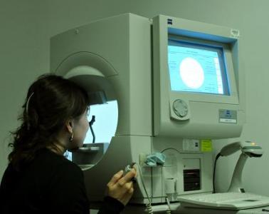 Oculomedica - Pole widzenia (perymetria)