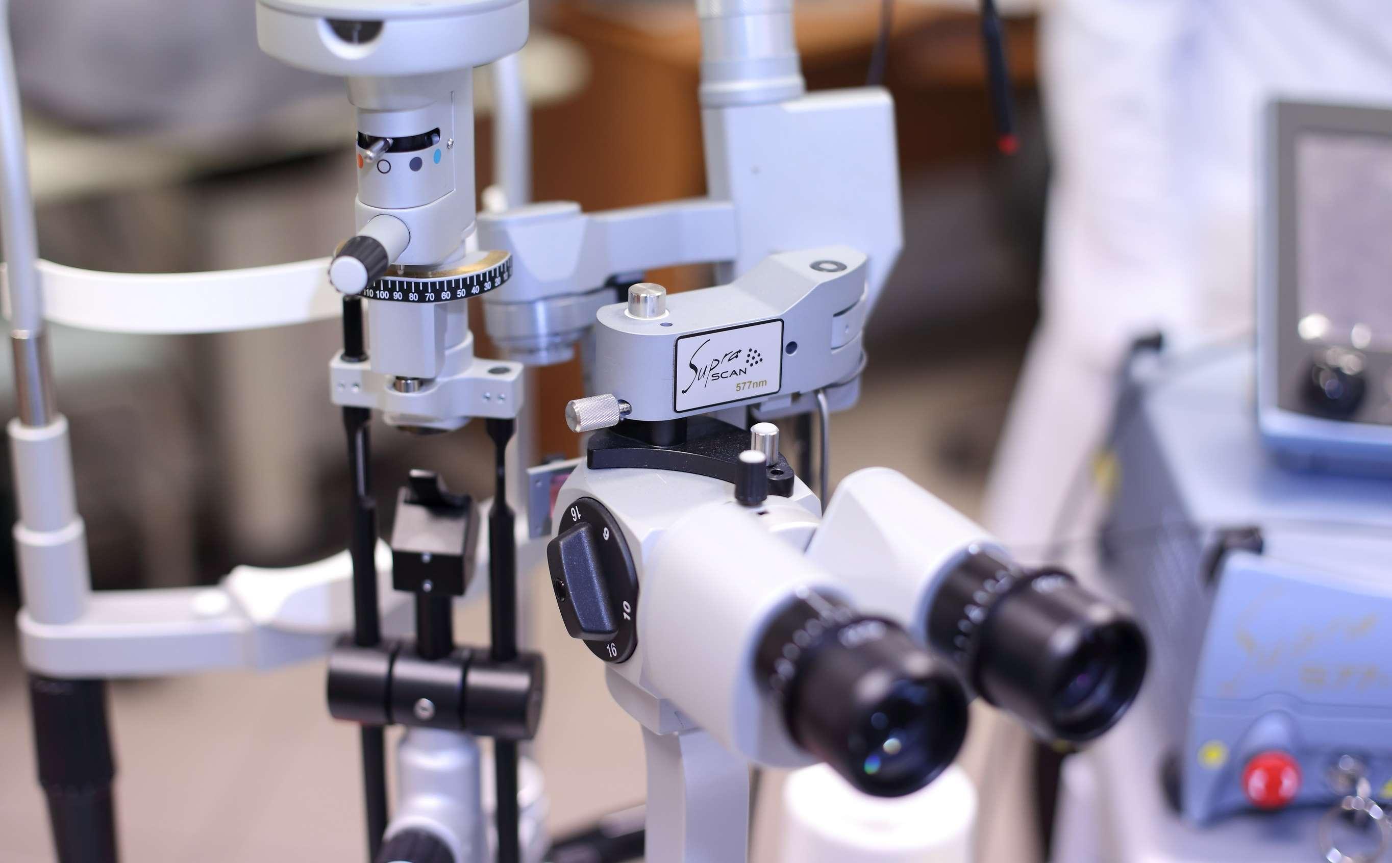 Oculomedica - Bezpieczny laser