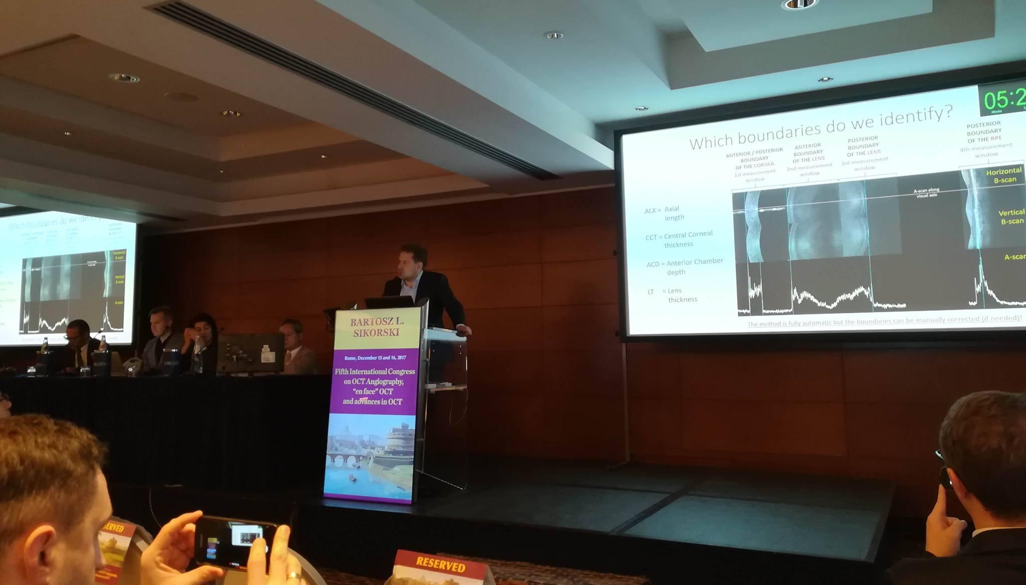 Oculomedica - Konferencja w Rzymie