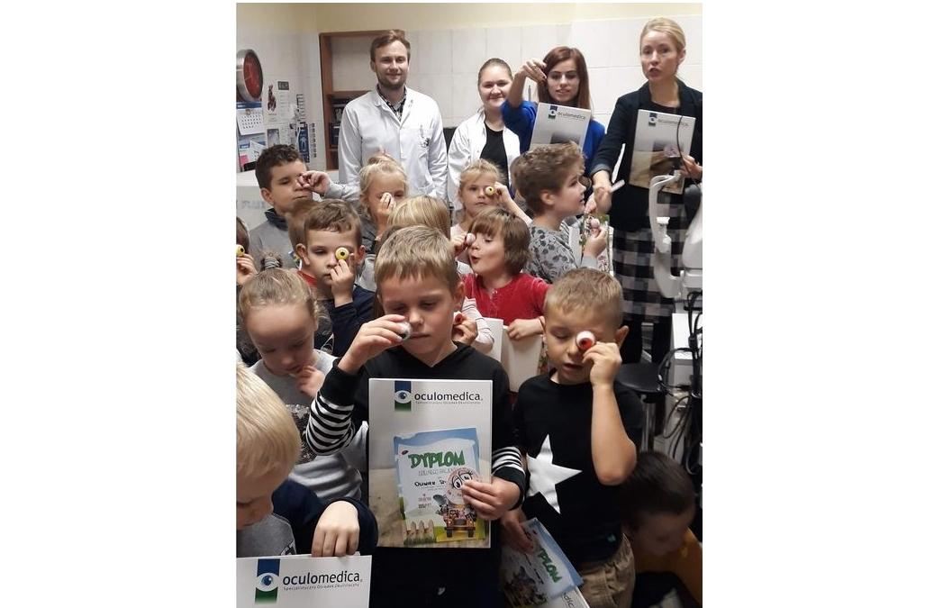 Oculomedica - Spotkanie z dziećmi